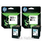 HP 301 Black Boxed Ink Cartridge Ch561e for Deskjet 2540 Printer