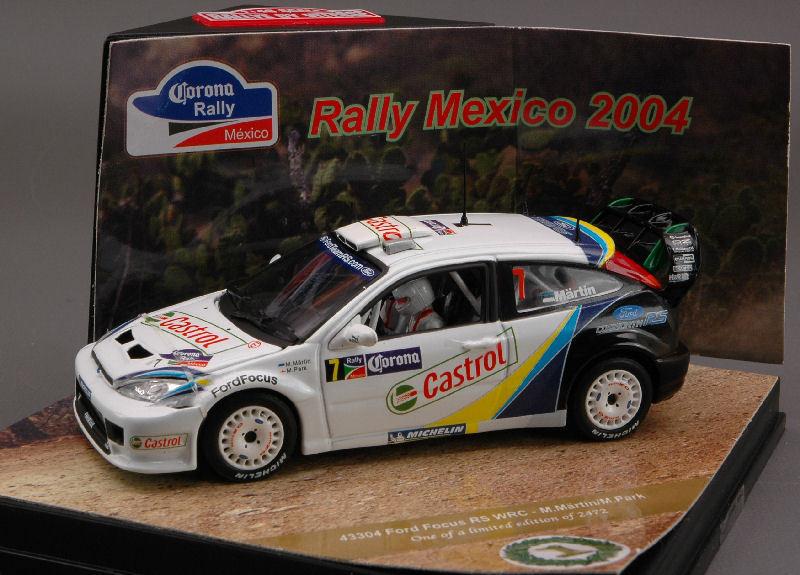 Ford Focus  7 Rallye Mexico 2004 1 43 Model 43304 VITESSE