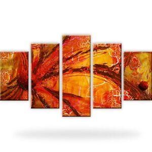 Abstraktion risse leinwandbilder kunstdruck mehrteilig ebay - Leinwandbilder mehrteilig ...