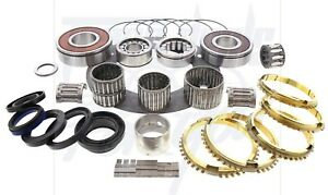 Details about Jeep AX15 AX-15 5 Spd Transmission Trans Deluxe Rebuild Kit  W/ Needle Bearings