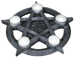 Pentagram-Tealight-Holder-Tea-Light-Candle-Holder-Wicca-Mystic-Pagan-Spirits