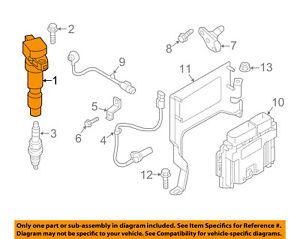 kia oem 17 18 optima ignition coil 273002e601 ebay