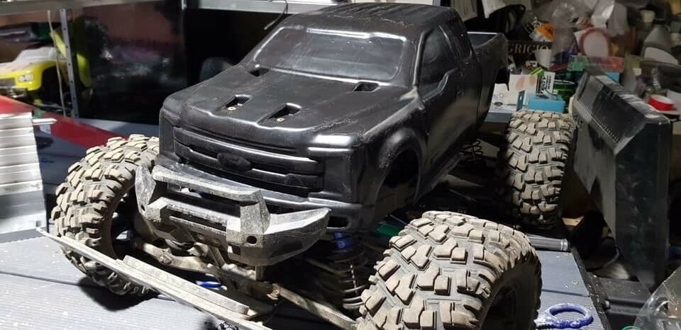 New Unbreakable RC body for Traxxas XMaxx   Ford F-350  X-maxx.