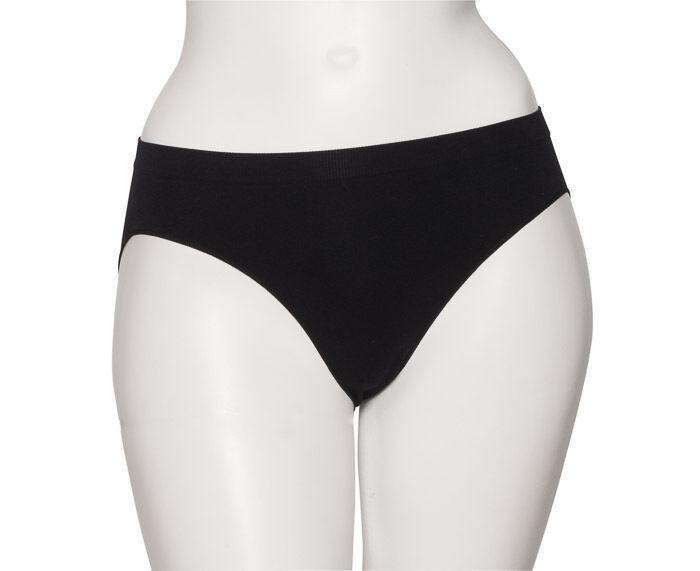 Ladies Girls Black Seamless Ballet Dance Underwear Briefs Pants Knickers By Katz