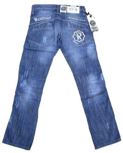 L34 Jeans 31 Ramblas Art 34 280 Look W31 63 Destroyed Neal Barcelone Cool Rusty BwqCzAA