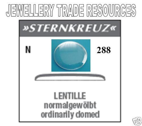 Remplacement Verre de Montre Crystal-Low Dome-Diamètre 28.8 mm