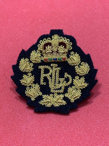 Ralph Lauren Crown Crest Gold Bullion Badges,Blazer Badges