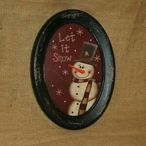Let-It-Snow-Snowman-Oval-Picture
