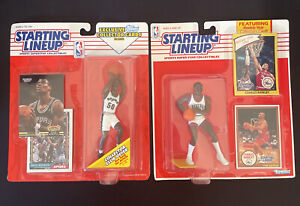 Charles Barkley ROOKIE Starting Lineup & David Robinson Topps Exclusive LOT 🔥