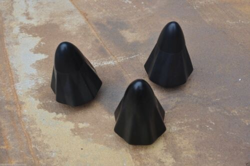 La poche Shot Slingshot Remplacement Noir Standard Pochettes nouveau Pack 3