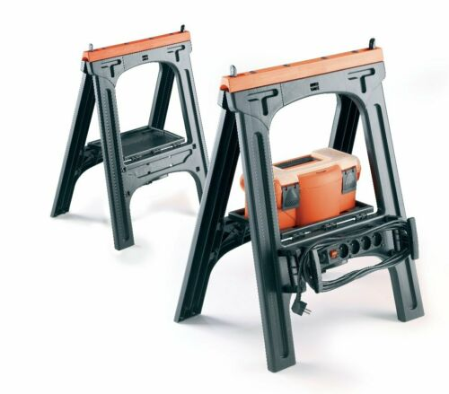 Plastique allzweckbock 2er Set capacité de charge jamais Bock 200 kg neu/&ovp!!!