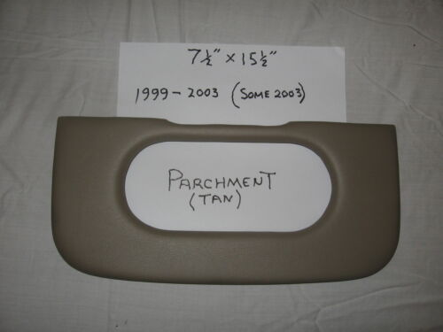 ford f-150 console repair pad 1999-2009