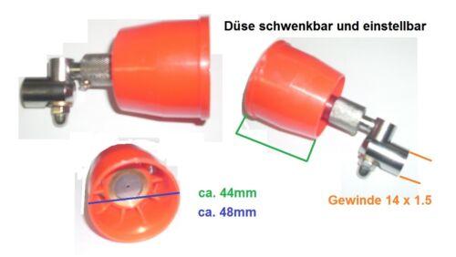 Düse schwenkbar einstellbar Motorsprüher Motorspritze Düngerspritze Druckspritze