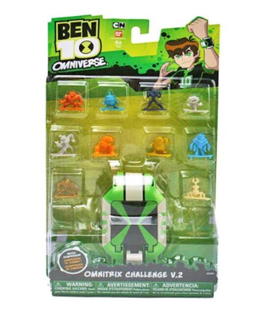 Ben 10 Ten Alien Bandai Omniverse Omnitrix Toy Watch Challenge V2 Fast MISB