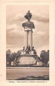"""Italien Sammeln & Seltenes Alte Ansichtskarte Torino Vittorio Emanuelle """"2702"""" Kleinformat 1930 BüGeln Nicht"""