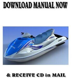 Yamaha-VX110-VX1100-110-Sport-Deluxe-Cruiser-factory-repair-service-manual-on-CD