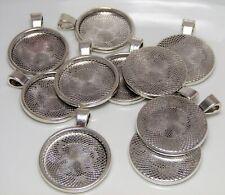 10pcs Tibetan silver cabochon settings//photo frame h0665