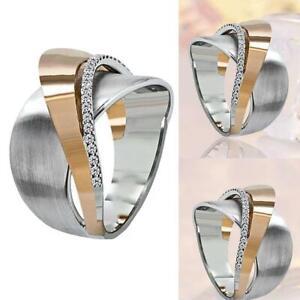Mode-kreative-damen-zweifarbige-legierung-ringe-frauen-schmuck-geschenk-hochzei