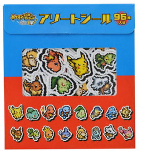 Pokémon Mystery Dungeon Rescue Team DX Assorted Seal Japan import NEW
