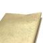 Tischdecke abwaschbar 100x140cm Wachstuchtischdecke Goldfarben festlich eckig