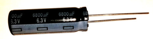 Elko Panasonic FR 6800uF 6,3V Kondensator 105°C Low ESR  / FM 856763