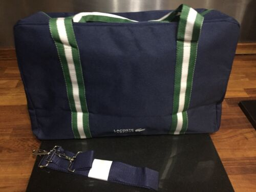 NEW Lacoste Mens Gym Weekend Duffel Bag parfum bag gym holiday  FREE DELIVERY
