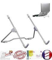 Support Pliable Universel Tablette Ordinateur Portable Multifonctionnel Métal