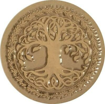 "1/"" seal, wood handle Celtic Tree of Life Wax Seal Stamp"