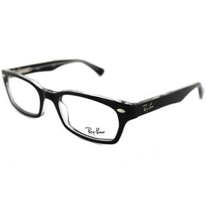 ed85308a0050 Ray-Ban Glasses Frames 5150 2034 Top Black On Transparent ...