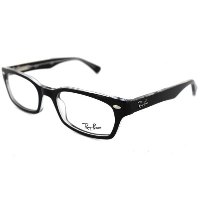 50a728fca5 Ray Ban RB RX 5150 2034 Black crystal Rb5150 Eyeglasses 50mm