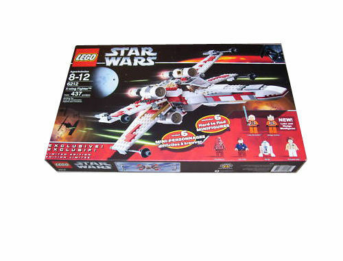 Lego 6212 X-Wing Fighter Factory Sealed