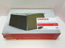 Staples Hanging Folder Frames 85 X 11 Silver 2pack 3 Pack 45433