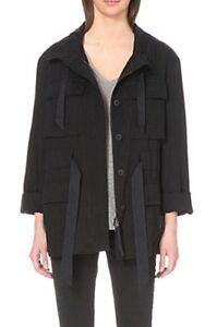 bnwt-Allsaints-Aiya-jacket-Ink-uk-14-fits-16-258-military-style
