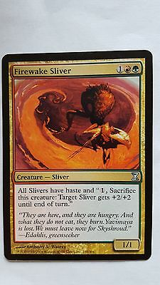 Magic MTG Screeching Sliver ~ Time Spiral Excellent+