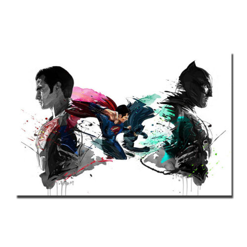 Batman vs Superman Hot Movie Art Silk Poster 13x20 24x36 inch-001
