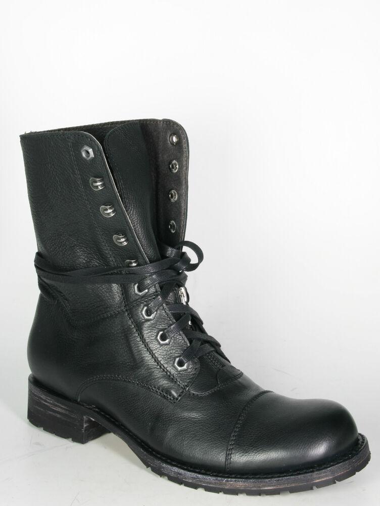 12334 Sendra Chaussure Lacée Mighty Monténégro Noir