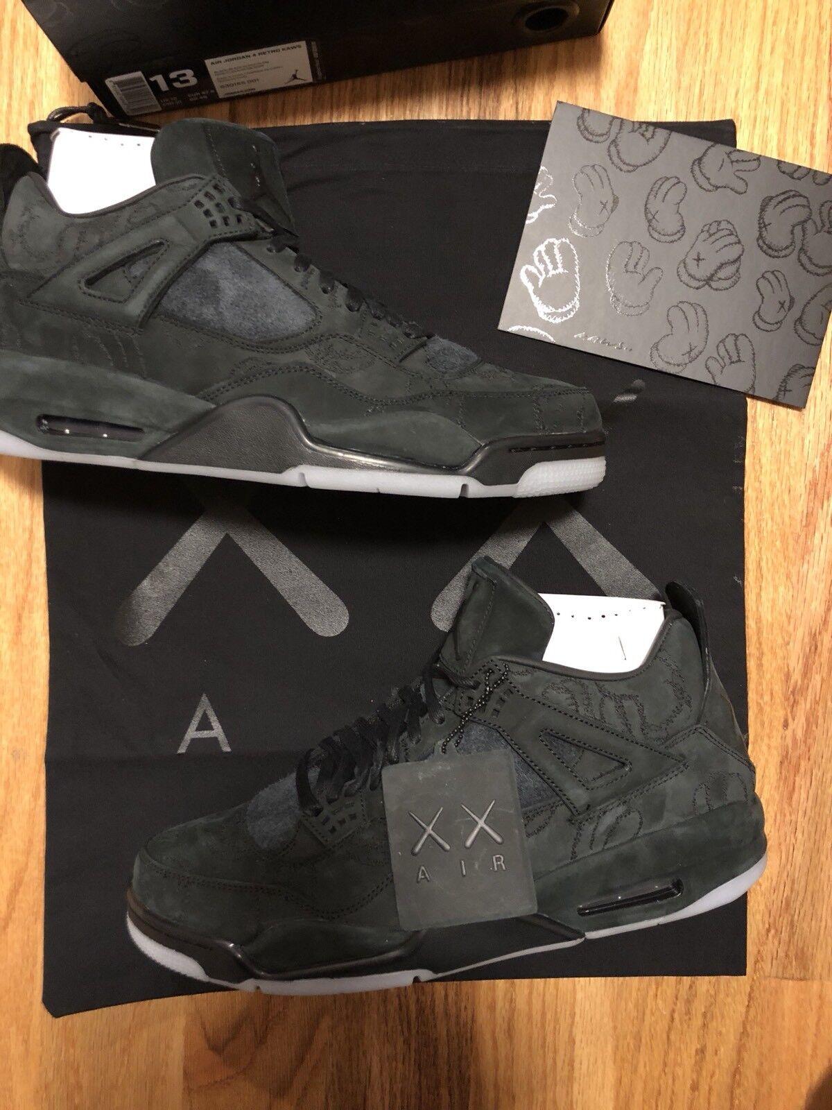 Limited Edition -- KAWS x Air Jordan 4 -- Size 13