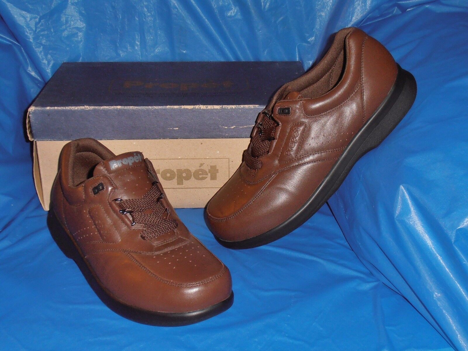 Propet M3910,  Uomo Brown Lite Comfort Walking Shoe.11 1/2 M