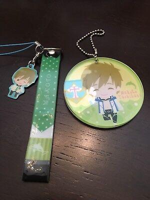 Free! Iwatobi Swim Club Makoto Tachibana Anime Charm Strap Set