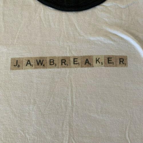 Jawbreaker Scrabble Ringer Vintage tour t-shirt /