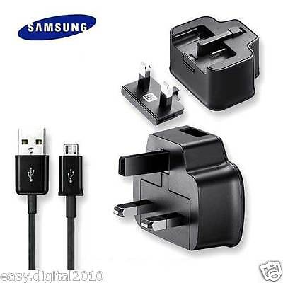 GENUINE SAMSUNG MAINS CHARGER USB DATA CABLE GALAXY S3 ACE PLUS 2 GALAXY S3 MINI