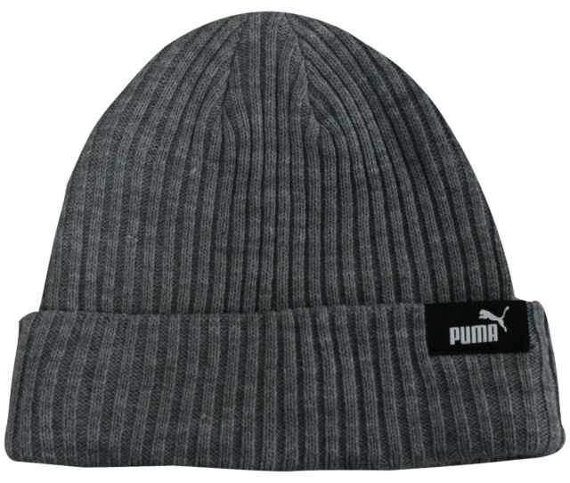 d900acf984e PUMA Sports Knitted Warm Winter Cuffed Beanie Hat Unisex Mens Womens ...