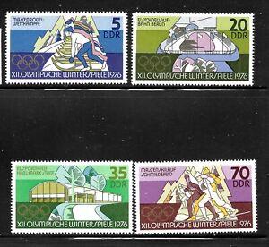 GERMANY-DDR-SC-1697-1700-MINT-NO-HINGE