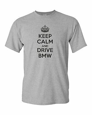 /'Keep Calm and Drive a BMW M2/' Funny BMW Car Ladies Womens Gift T-shirt