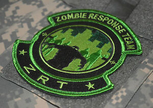 KILLER ELITE ARMY RANGER PATHFINDER NINJA MORALE PATCH: Zombie Response Team ZRT