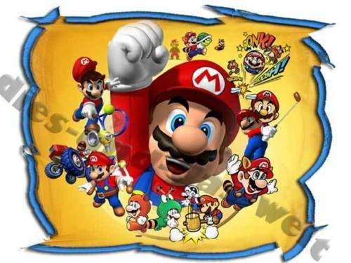 * Cool Super Mario STAFFA immagine o ricamate 15 x 18cm Gross XL NUOVO selezione