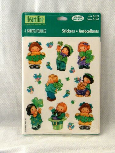 Patrick/'s Day Holiday Snoopy Smiley Face Stickers of Choice New Hallmark St