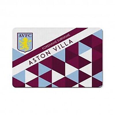Aston Villa F.c - Personalised Floor Mat (patterned)