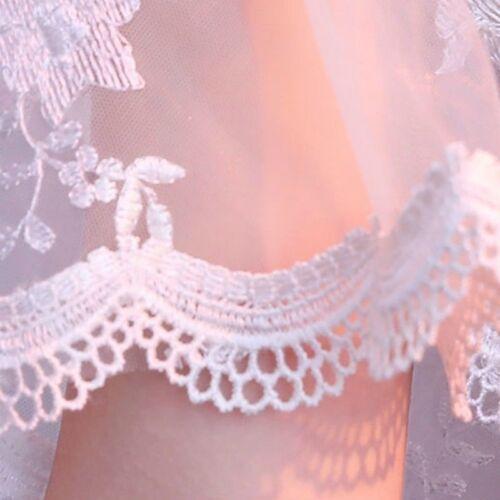 Bridal Lace Shrug Bolero Cape Wrap Jacket Shawl Capelet Tippet Tulle Wedding