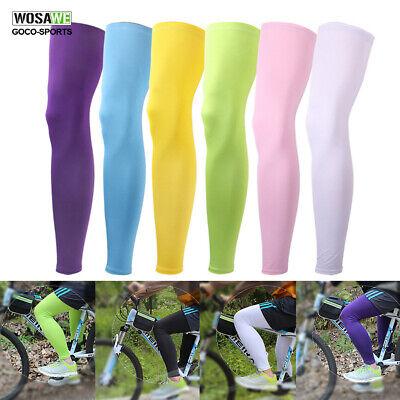 Road Bicycle Sun Protection Leg Warmer Racing Knee Cover Cycling Leg Sleeves